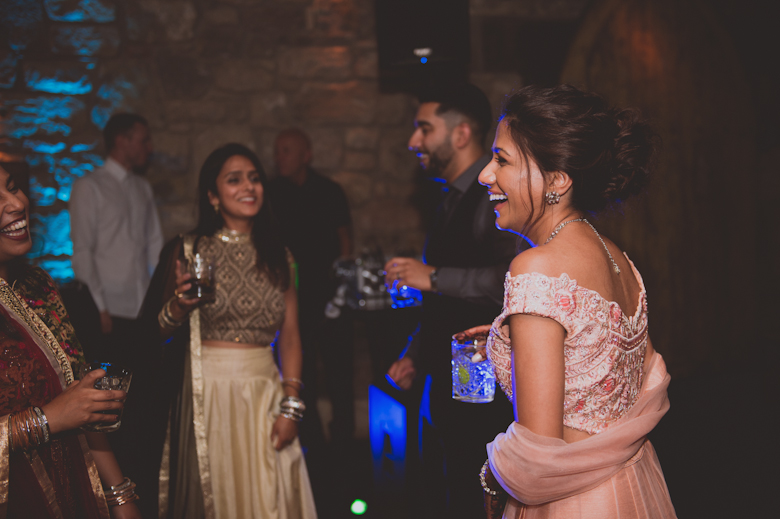 dancing fun shot - Asian Wedding Photography
