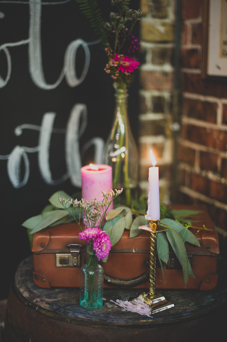 Easy Quay wedding venue - Whitstable - festival wedding decor