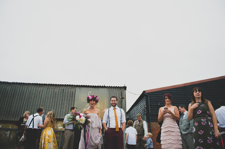 fun on the beach, Whitstable - Coastal Wedding at the East Quay Wedding in Whitstable, Kent