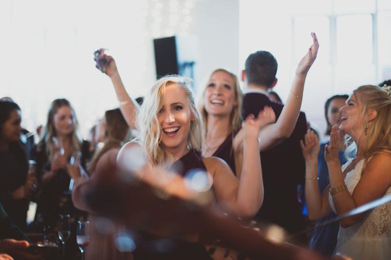 fun dancing at a wedding - Alternative Wedding Photographer