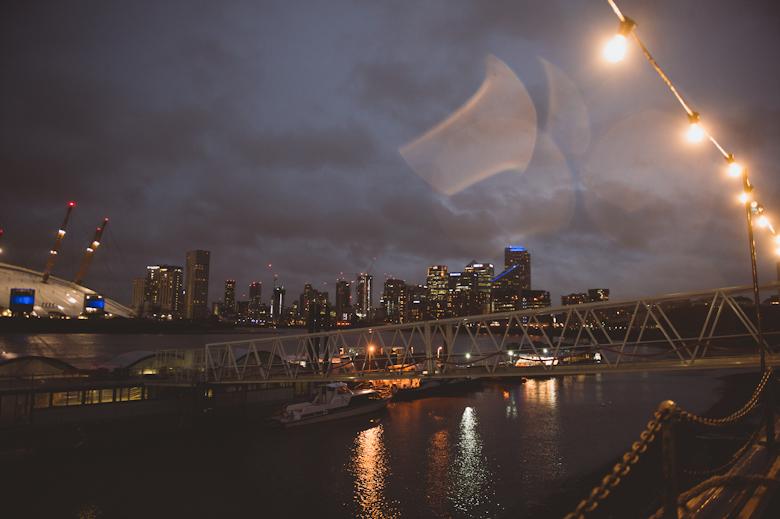 Trinity Buoy Wharf at night O2