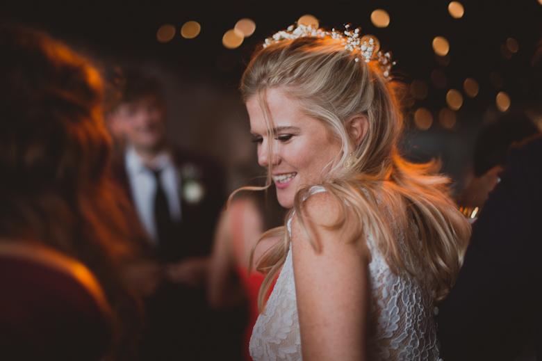 bride dancing having the best time
