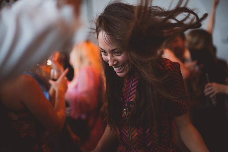 fun party dancing the trinity buoy wharf wedding