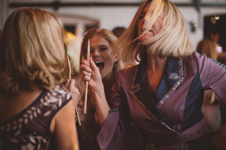 bride fun dancing shots