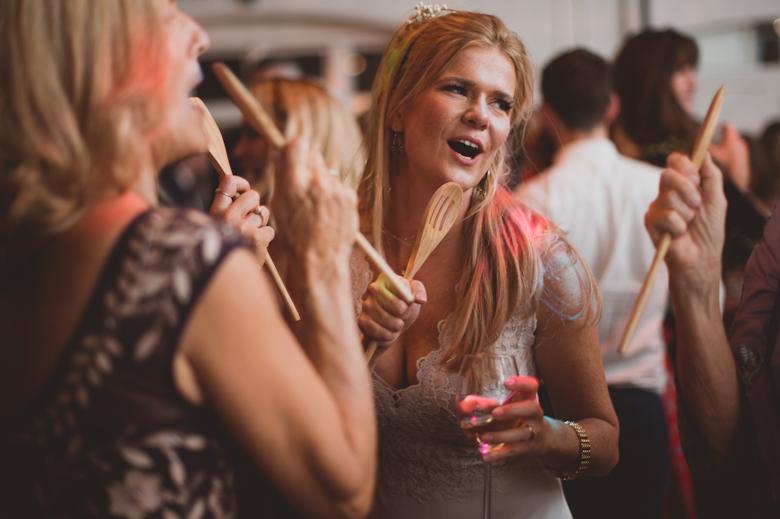 bride fun dancing shot the trinity buoy wharf wedding