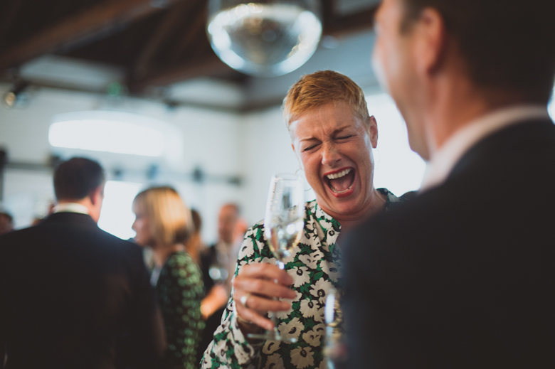 laughing the trinity buoy wharf wedding