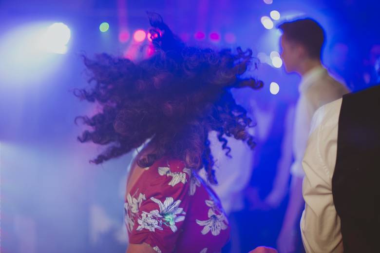 Wedding Dance Photos - Hair in the air
