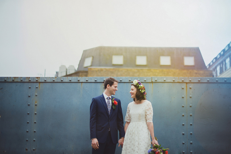urban wedding