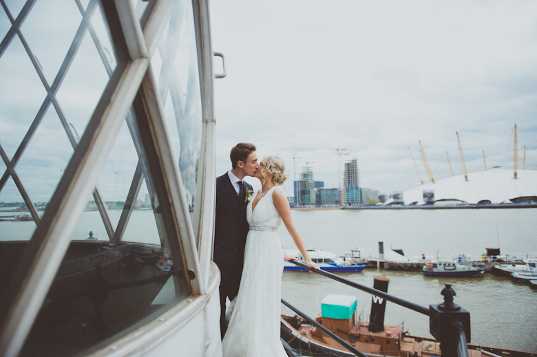 trinity buoy wharf lighthouse wedding