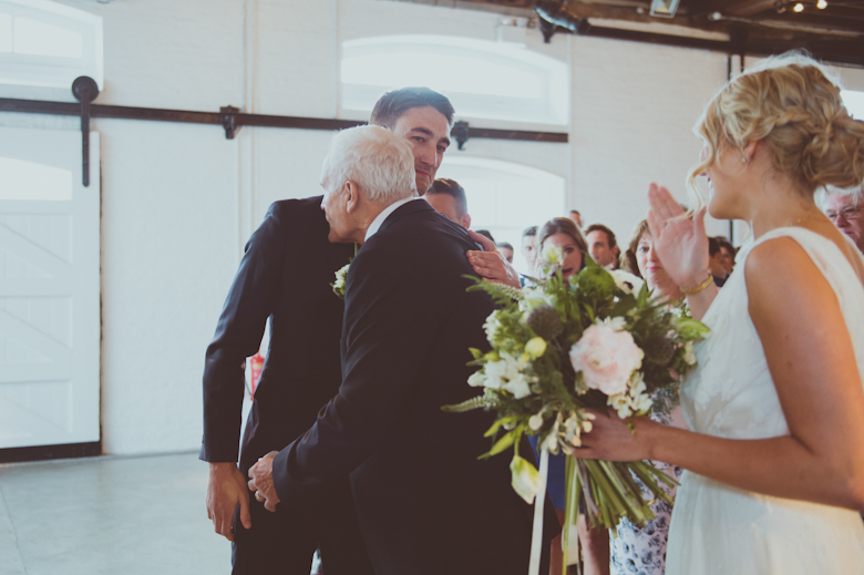 groom in tears