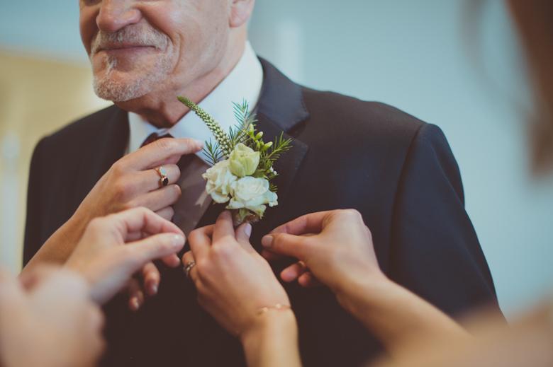 button hole - Alternative Wedding Photographer