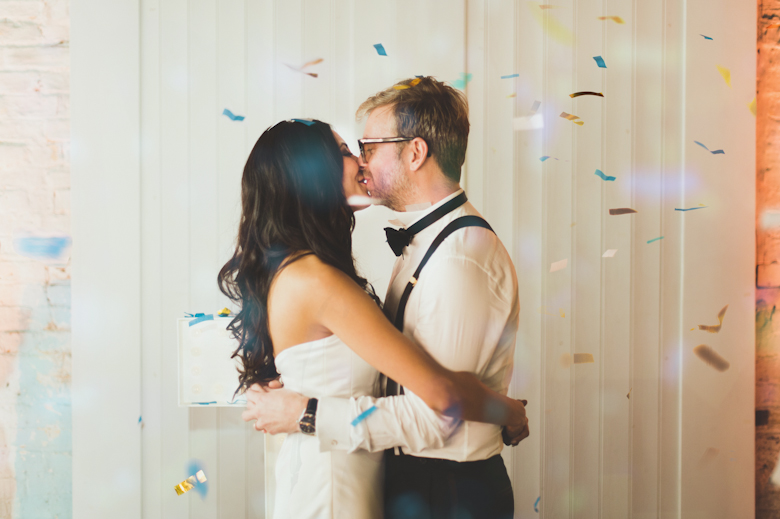 First dance at the Brixton East with Confetti