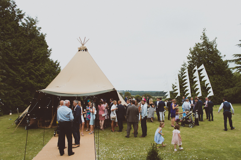 tipi festival wedding venue - Festival Wedding
