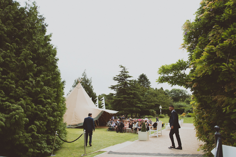 festival outdoor ceremony Festival Wedding