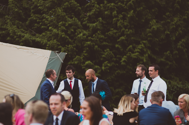 guests enjoying themselves - Festival Wedding