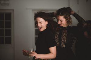 guests dancing having fun