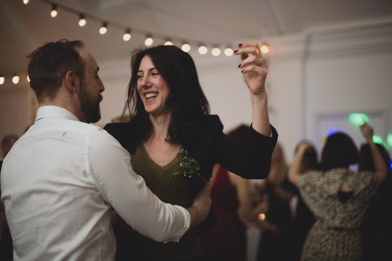 lots of fun dancing
