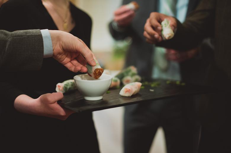 fingering food