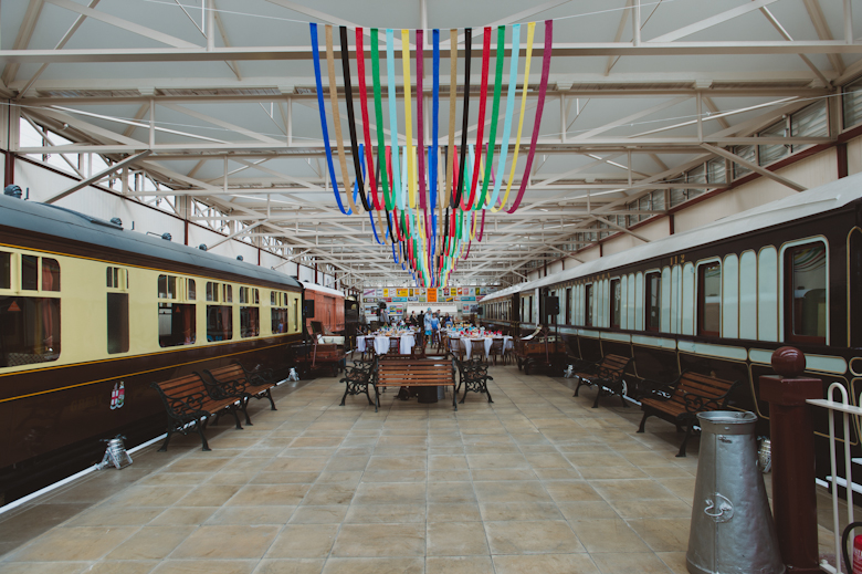 Wedding - Buckinghamshire Railway venue