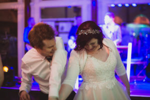 bride and groom - Buckinghamshire Railway venue