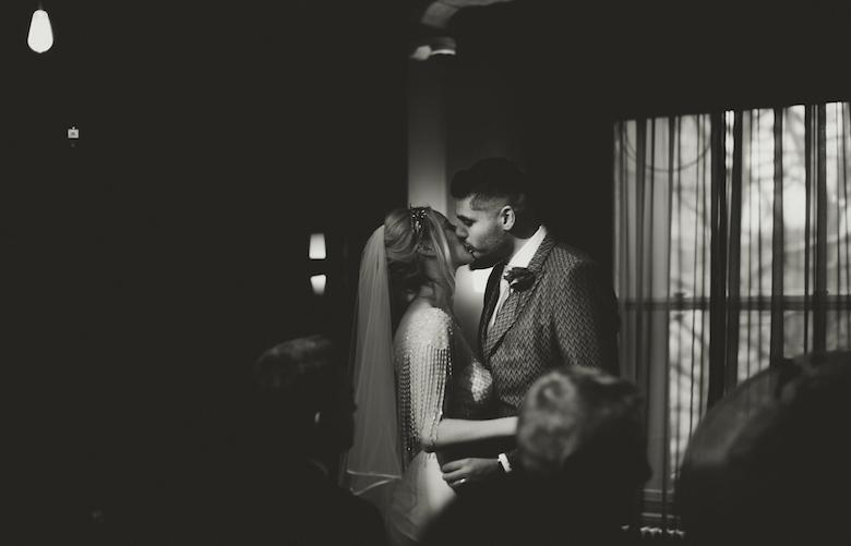 Century Club Soho Wedding - London Wedding photographer - Candid wedding photography