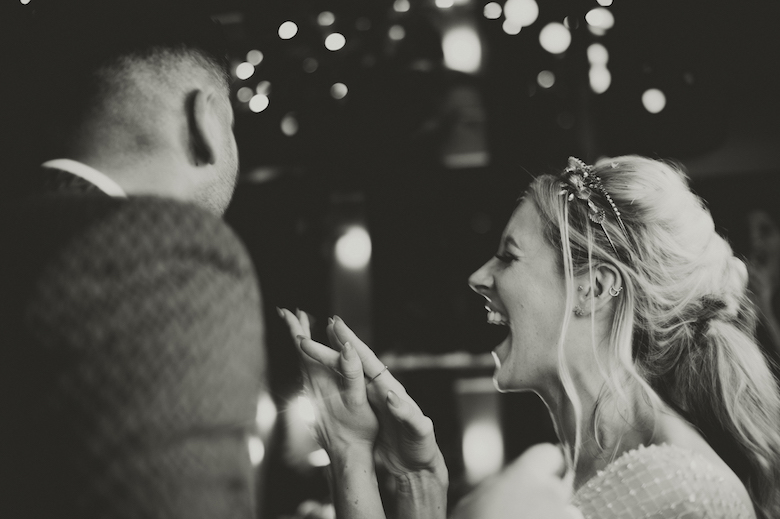 Candid wedding photography - First dance - London wedding