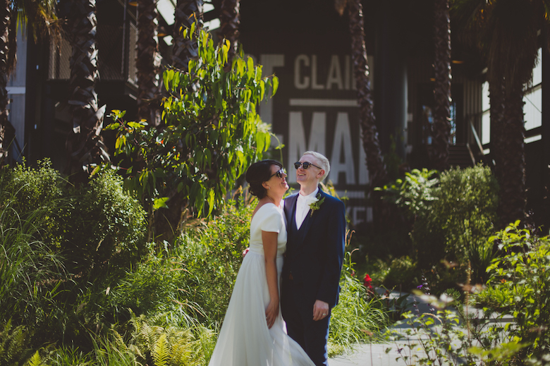 Trinity Buoy Wharf Wedding London - Candid wedding photography