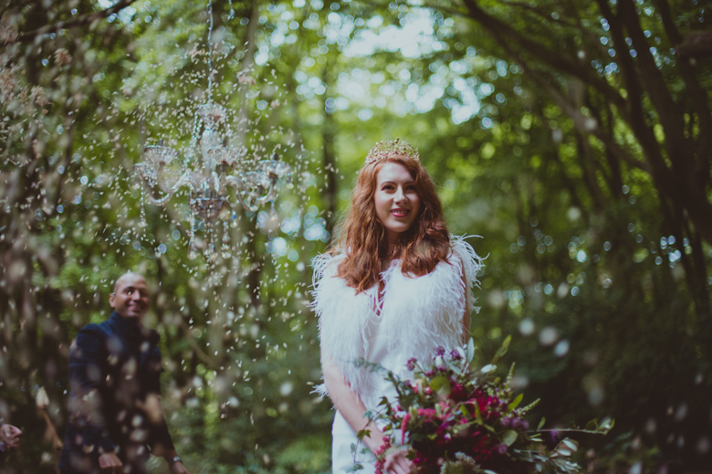 Confetti - Festival Wedding Hertfordshire - Styled Shoot