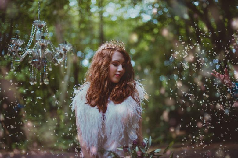 Styled Shoot - Confetti - Festival Wedding Hertfordshire