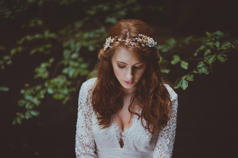 Festival Bride - Style Shoot Hertfordshire - festival wedding photographer