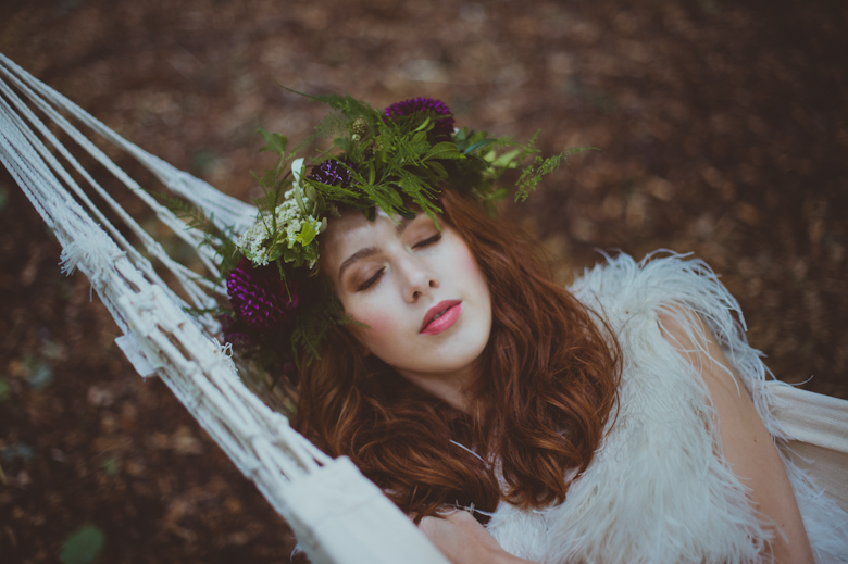 sleeping beauty festival bride Styled Shoot