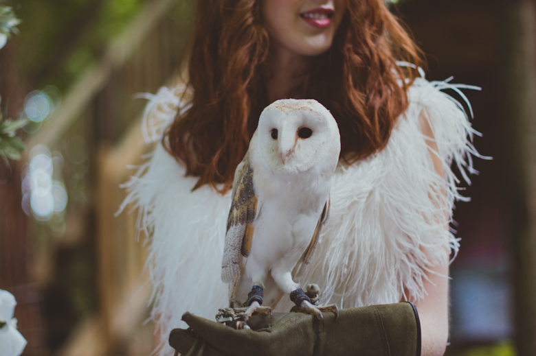 Bride and an Owl - Table Decor - Festival Wedding Hertfordshire