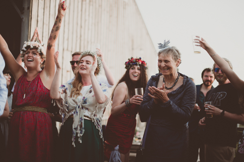 guests having fun - Top tips for stree free wedding