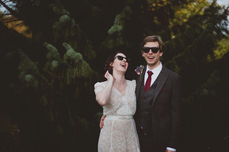 Relaxed Wedding Photography - alternative wedding photographer London