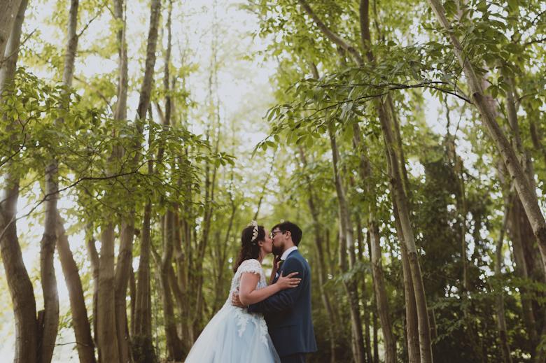 Wedding Photographer Sussex - Woodland wedding photography
