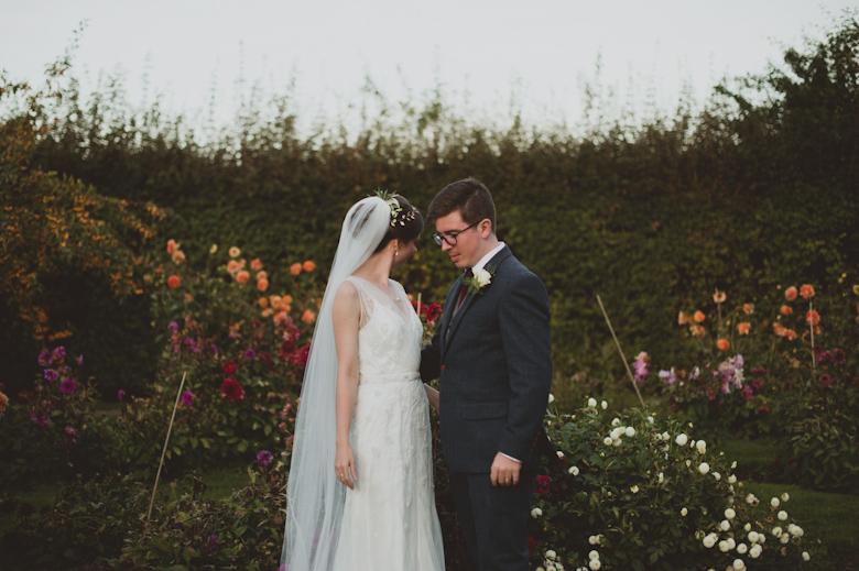 Wedding Photographer Sussex - Walled Garden