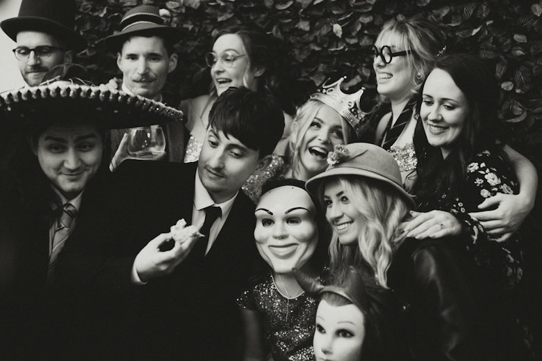Best Wedding Photos - fun in the photo booth