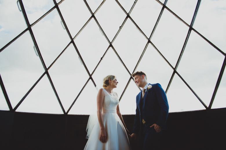 Urban wedding Photography - Trinity Buoy Wharf Photographer London
