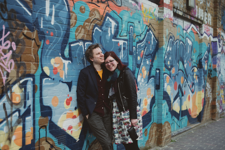 Informal wedding photography - Engagement Shoot made easy - Alternative Wedding Photographer - London Wedding Photographer - East London Engagement Shoot - Hackney Wick