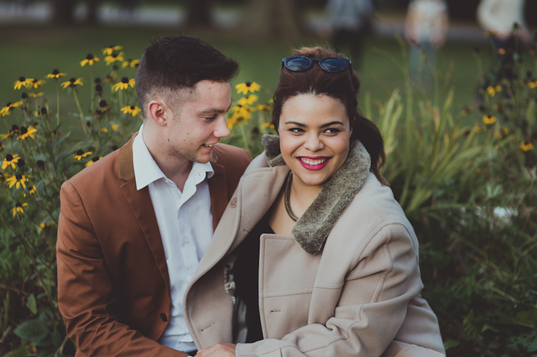 Engagement Shoot made easy - Alternative Wedding Photographer - London Wedding Photographer - informal wedding photography