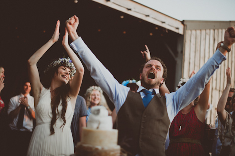 Natural wedding photography - Barn Wedding Photography - Devon photography - festival wedding photography - informal wedding photographer Uk