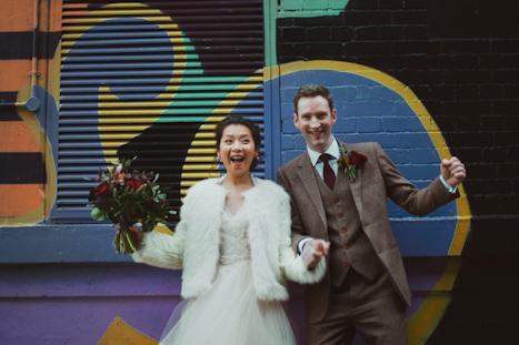 Shoreditch Ace Hotel London Wedding venue - Ace Hotel Wedding - fun photography stop motion