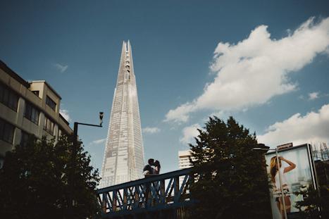 The Shard London wedding venue - The Shard wedding London Photographer