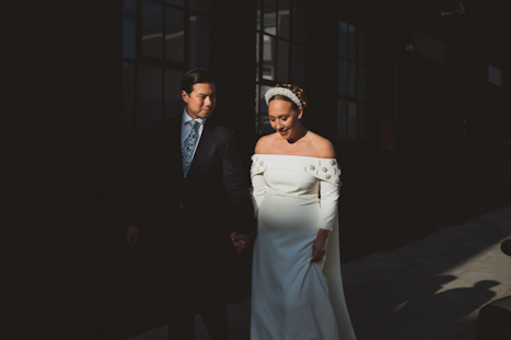 Bistrotheque London wedding venue - alternative photography