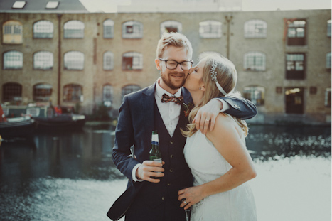 London Canal Museum Wedding photography - London wedding venues - natural photography