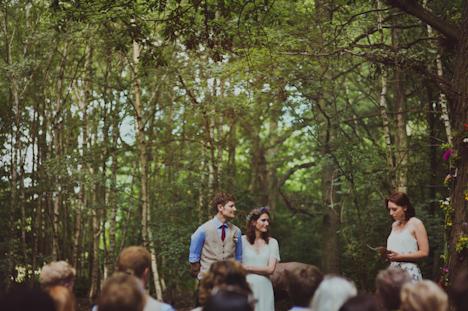 Outdoor Wedding Photography - Woodland wedding photography - Kent photographer - natural wedding photographer