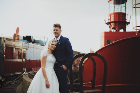 warehouse wedding photography London - natural wedding photographer UK - Trinity Buoy Wharf photographer