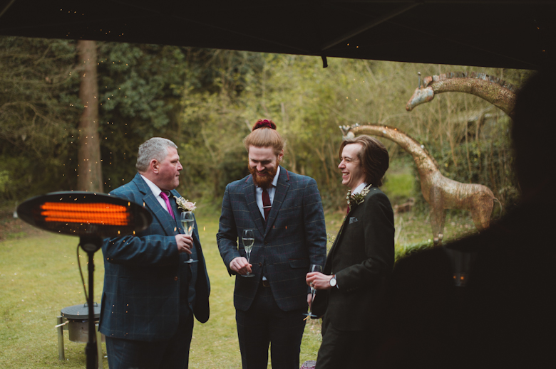 Wedding Photographer Uk - Surrey pandemic wedding photography